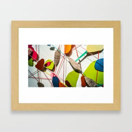 Blobby Blob 3 Framed Art Print