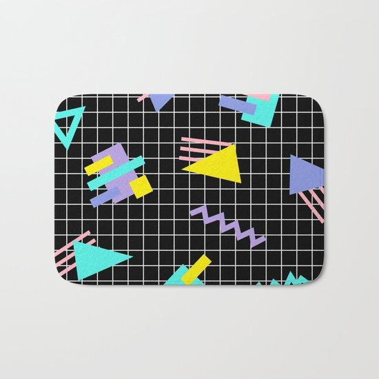 Memphis pattern 7 Bath Mat