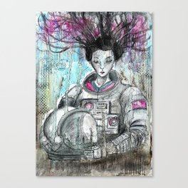 'Galaxy Geisha' Canvas Print