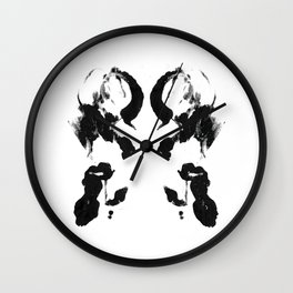 Smoke Therapy Print Wall Clock