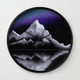 Silent Skies Wall Clock