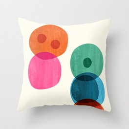Cellular Throw Pillow