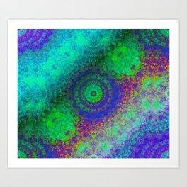 Zen RGB B-eta Art Print