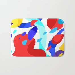 colors in my dream Bath Mat