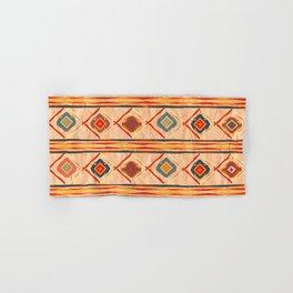 Southwestern Motif in Beige Hand & Bath Towel