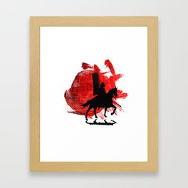 Japan Samurai Framed Art Print