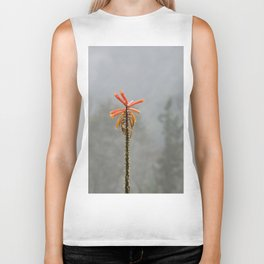 Flower in the mist Biker Tank