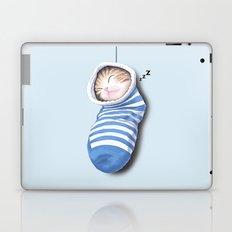 Cat in the Sock Laptop & iPad Skin