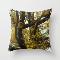 fibonacci Throw Pillows featuring Fibonacci by Monica Ortel ❖