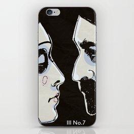 Two People iPhone Skin