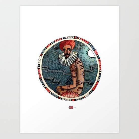 Tribes of our lives Art Print