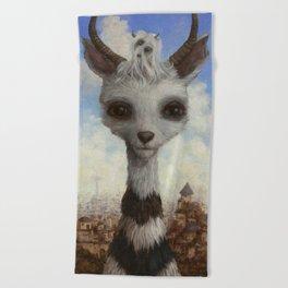 corgru Beach Towel