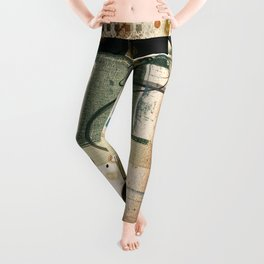 Abstract Exceptions Leggings