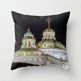 Iglesia de La Compañía (Church of the Society of Jesus) Throw Pillow