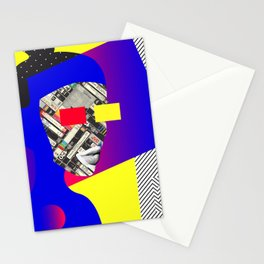Space Portrait Stationery Cards