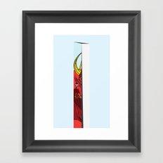Strait Samurai Sword Framed Art Print