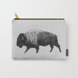 Buffalo, Bison Carry-All Pouch