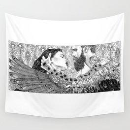 asc 794 - Les brûlants (Burning in devotion) Wall Tapestry