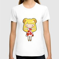 scandinavian T-shirts featuring Scandinavian Hamster by Joanna Zhou