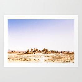 Mystery Planet - Trona Pinnacles Tufa Spires Art Print
