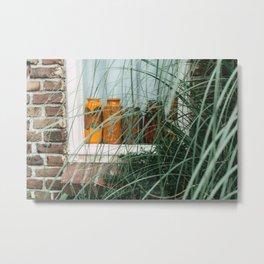 Window art color | bottles | details Utrecht street photography  Metal Print