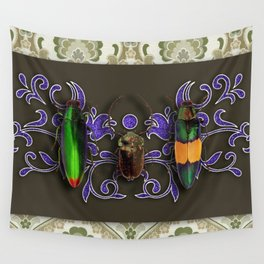 TRILOGY BEETLES I Wall Tapestry