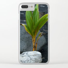 Let it grow Clear iPhone Case