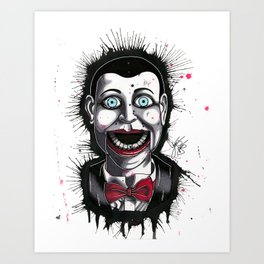 The Horror of Billy the Doll Art Print