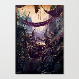 when the world comes to an end Canvas Print