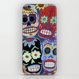 Sugar Skulls iPhone Skin