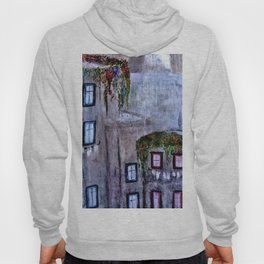 Houses in Milan in the evening Italy Hoody