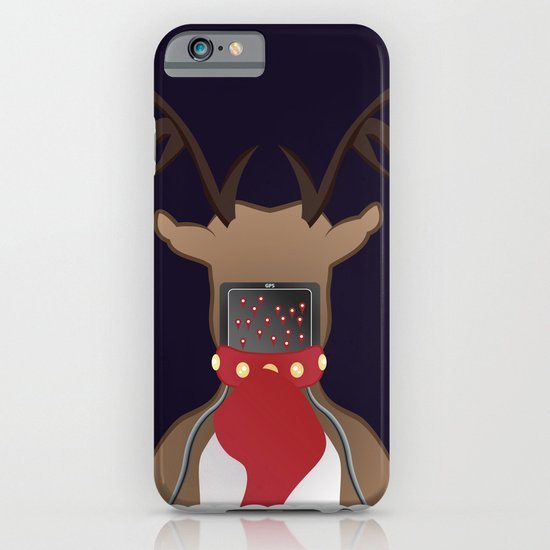 Christmas Card - I Can't Find Britain! iPhone & iPod Case