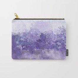 Choppy Purple Ocean Water Carry-All Pouch