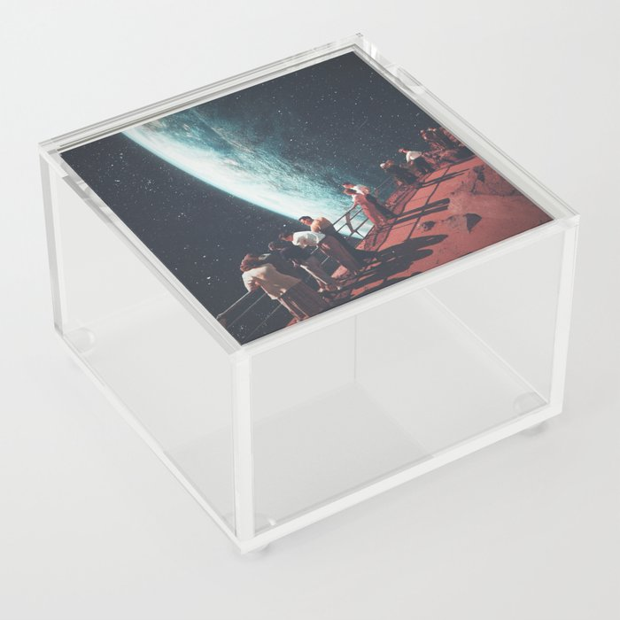 Missing the ones we Left Behind Acrylic Box