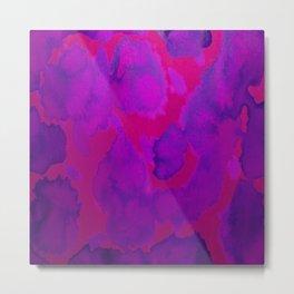 Pink Purple Metal Print