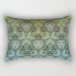 Forest Lake. sacred geometry. seamless pattern Rectangular Pillow