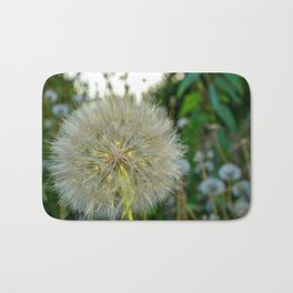 Seed Head flower Bath Mat