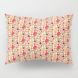 Christmas Candy Pattern Pillow Sham