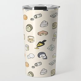 Cheese pattern Travel Mug