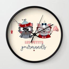 Les petits gourmands Wall Clock
