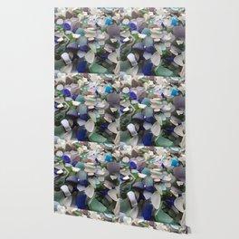 Sea Glass Assortment 2 Wallpaper