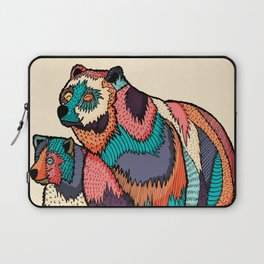 The two bears Laptop Sleeve