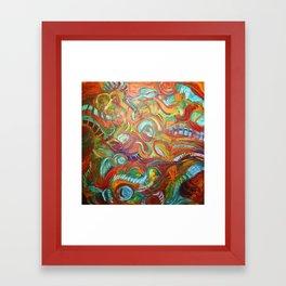 desert's kiss Framed Art Print