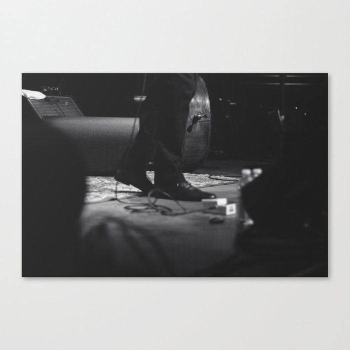 on stage Canvas Print