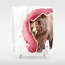Griz Shower Curtain