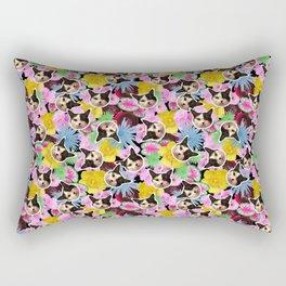 Poppie Cat Rectangular Pillow