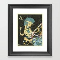 Andromeda Animals Framed Art Print