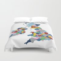 uk Duvet Covers featuring UK by Project M