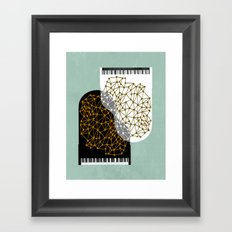 The Entertainers - Two Pianos Framed Art Print