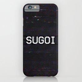 SUGOI iPhone Case